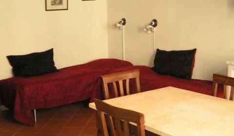 Soveplads og spiseplads